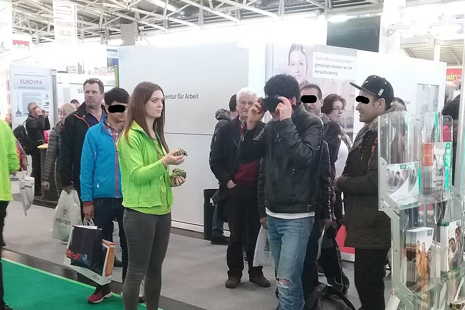 Handwerksmesse VR Brille